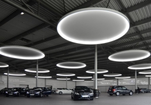 lighting: CIRCOLO CAN BE USED INDIVIDUALLY AND SETS SPECIAL ACCENTS WHEREVER LARGE AREAS AND HEIGHTS ARE DESIGNED WITH LIGHT.Ø 750, 900, 1320, 1600, 1800, 2300, 2600, 3500 MM | ARCHONTIKIS-SATTLER