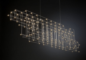 lighting: ORION, SIZES: 175X30X30CM, 148 X LED 5V/0,2W, 2700K, | ARCHONTIKIS