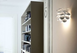 lighting: DISCOCó WALL LAMP WHITE. | ARCHONTIKIS - MARSET
