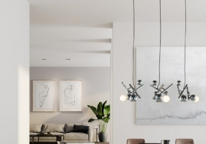 lighting: GALAXY IS A CONSTELLATION OF ENERGY, MOVEMENT AND FORM. | ARCHONTIKIS - BRANDEGMOND