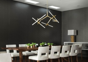 lighting: AGNES CHANDELIER - 10 LIGHTS - D 100CM H 80CM | ARCHONTIKIS - LINDSEY ADELMAN