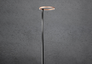 lighting: MIDNIGHT FLOOR; DOWN AND UPLIGHT DIA 40CM | ARCHONTIKIS - ESCALE