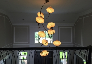 lighting: 9 AND 14 PALMS CHANDELIER | ARCHONTIKIS - AQUA