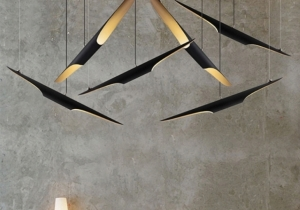 lighting: MASTERPIECE: COLTRANE - L 100CM | ARCHONTIKIS - DELIGHTFULL