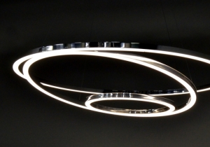 lighting: TOCCATA PENDANT LIGHT DIRECT LIGHT DISTRIBUTION, 3/ 5 PARTS ALUMINIUM PROFILE,LED-TECHNOLOGY Ø 900 MM,  Ø1550 MM, Ø 1900 MM | ARCHONTIKIS-SATTLER