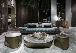 furniture: DARLINGTON SOFA | ARCHONTIKIS - ROBERTO CAVALLI