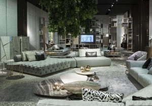 furniture: DARLINGTON SOFA - 2 | ARCHONTIKIS - ROBERTO CAVALLI