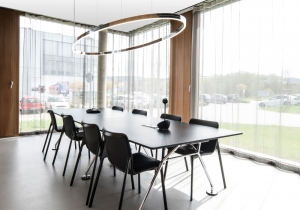 lighting: DOPPIO ELLIPSECIRCULAR ALUMINIUM PROFILE WITH INTEGRATED ACRYLIC RING,LED-TECHNOLOGY.1550 X 775, 2200 X 910, 2750 X 1030 MM | ARCHONTIKIS-SATTLER