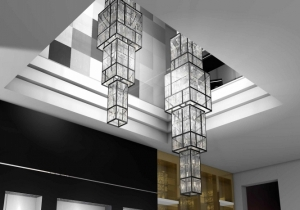 lighting: BWSPOKE CHANDELIER FOR MONTDBLANC, NICE | ARCHONTIKIS-WINDFALL