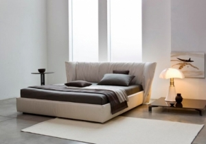 furniture: ´SEDONA´IT HAS BEEN COMPARED TO ?A CLOUD OF COMFORT? THANKS TO THE SOFT HEADBOARD IN FEATHERS DESIGNED AS A LARGE COMFORTABLE CUSHION THAT LOOKS LIKE WITHOUT A STRUCTURE WHOSE EXTERNAL PARTS CAN BE CLOSED TO CREATE A NEST AND A COZY SHELTER. COMPLETELY RE | BSNL