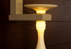 lighting: CASTELLO, WAL LAMP. DIA.: H 39CM, DEPTH.: 24CM, B. 15,5CM. LED POWER: 6,7 W. WEIGHT: 2,5 KG | ABATEZANETTI-ARCHONTIKIS