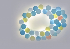 lighting: THE MILLELUMEN CIRCLES COLLECTION CONTAINS VARIOUS LUMINAIRE TYPES AND DIFFERENT SIZES. THE CHOICE FROM WALL, CEILING, FLOOR AND TABLE LUMINAIRES | ARCHONTIKIS - MILLELUMEN