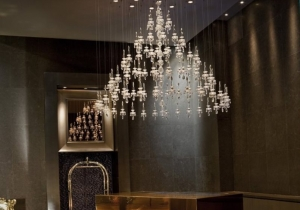 lighting: WALLSTREET USA PROJECT:BALANCE CHANDELIER, ø250 X 290 CM | ARCHONTIKIS-WINDFALL