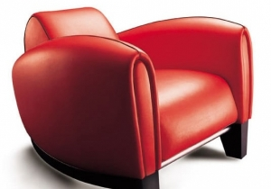 furniture: DS-57: THE DESIGN AND SITTING COMFORT ARE REMINISCENT OF A 1930S RACING CAR. THE STEEP RAKE OF THE SEAT IS ACHIEVED BY USING A WEDGE-SHAPED BASE – IN IMPACT-RESISTANT HIGH GLOSS LACQUER, VARNISHED SOLID OAK OR ALUMINIUM. | ARCHONTIKIS - DESEDE