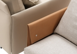 furniture: GRAN TORINO DETAIL | POLTRONA FRAU