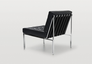 furniture: KT-221 DESIGN: KURT THUT. RELAUNCH AND UPDATE OF THE DESIGN CREATED IN 1956.   SUITABLE PRIMARILY FOR LOBBIES AND WAITING AREAS, BUT ALSO FOR USE IN THE LIVING SPACE. | DESEDE