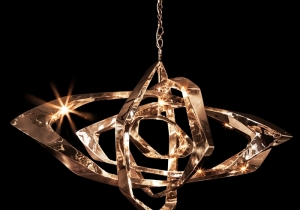 "lighting: HORIZONTAL LA CAGE  DIMENSIONS APPROX. 72"" X 38\"" X 42\"" 