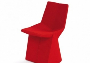 furniture: CHAIR MARS, KONSTANTIN GRCIC 2003IF YOU ARE LOOKING FOR A CHAIR THAT IS LIKE NO OTHER CHAIR, LOOK NO FURTHERCOVER IN FABRIC OR IN LEATHER. | CLASSICON