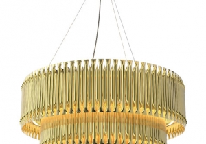 lighting: MATHENY CHANDELIER-DIA:100 CM, H 75CM- 80 KG | ARCHONTIKIS - DELIGHTFULL