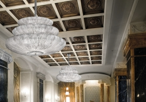 lighting: MURANO-GLASS-LIGHTING-SPICCHI-ARTE-VENEZIANA-1450_150_S-CC-T | ARCHONTIKIS - G&G