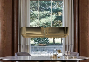 lighting: VAUGHAN - L 130, W 35, H 30CM BRASS | ARCHONTIKIS - DELIGHTFULL