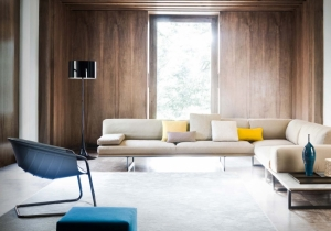 furniture: SOFA SYSTEM ´BLUMUM´IT IS A PROPOSAL FROM THE ESSENTIAL FORMS IN PERFECT EQUILIBRIUM AMONG MINIMAL DESIGN, EXTREME ELEGANCE AND COMFORT, WITH LOW OR HIGH BACKREST CUSHION. .