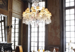lighting: ZÉNITH FLOU, CHANDELIER | ARCHONTIKIS-BACCARAT